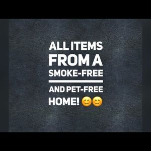 Smoke-free and Pet-free Home